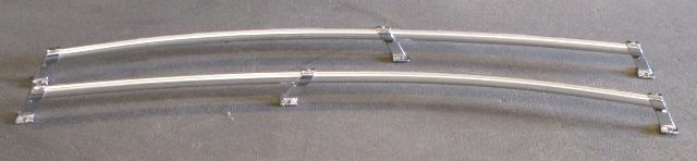 "1983 Crestliner Nordic 16 Boat Aluminum Grab Bow Rail Railing Set 46"""