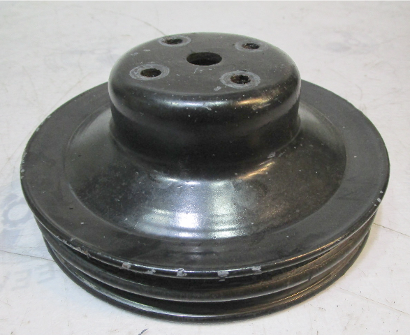 3852220 Water Pump Pulley TWO GROOVE OMC Cobra / Stringer & Volvo SX Chevy V6 V8