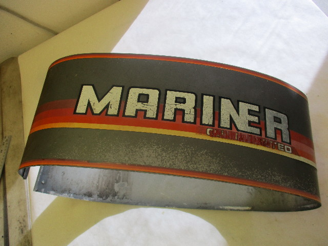2172-8181A2 Vintage Mercury Mariner Outboard 45/50HP Wrap Around Cowl Cover