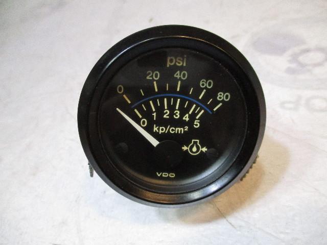 """Chaparral VDO Marine Oil Pressure 2"""" Gauge"""