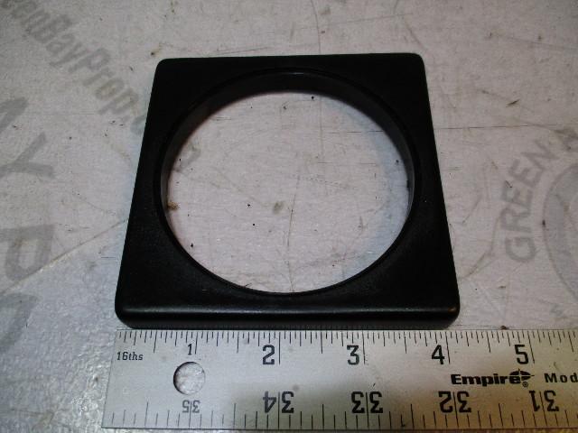 """Chaparral VDO Marine 3 1/2"""" Gauge Square Black Bezel 4 1/8"""" X 4 1/8"""""""