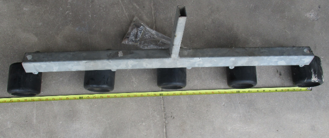 Marine Boat Trailer Galvanized Steel Roller Assembly with 5 Rollers