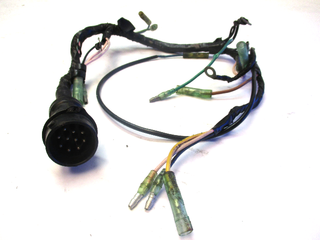 6H4-82590-20-00 Yamaha Outboard Wire Harness Assembly 40 & 50 HP 1984-1988