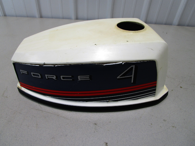 FS535712 Force Chrysler Outboard 4 Hp Engine Cowling Cover Top Hood Cap