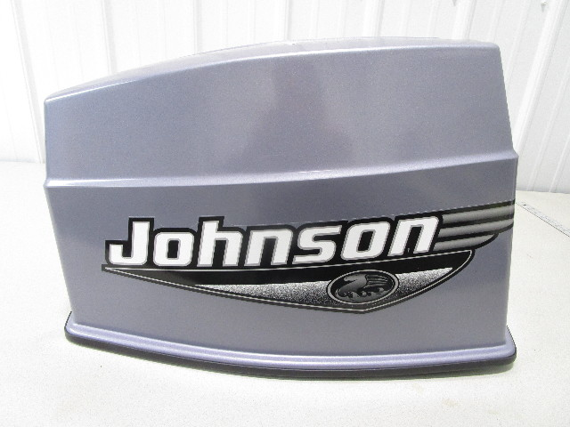 5001136 OMC Johnson Evinrude 70 HP Motor Cowl Engine Cover Cowling Hood 2000