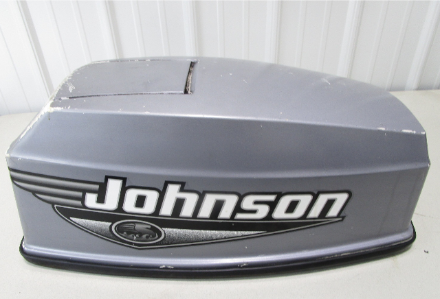 5001186 OMC Johnson Evinrude Grey Engine Cover Cowling Top Cowl 50 Hp 2000