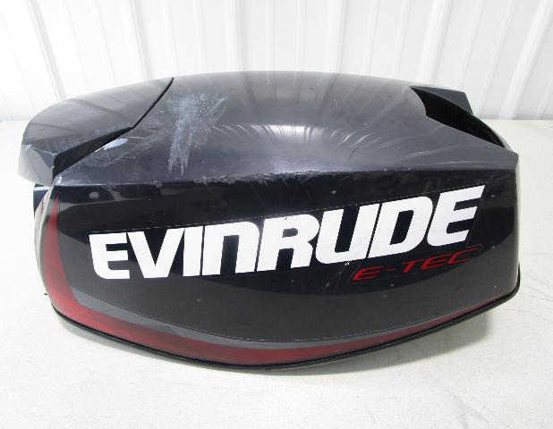 0285856 OMC Evinrude E-Tec 25 HP Outboard Engine Cowl Top Motor Cover 0285823