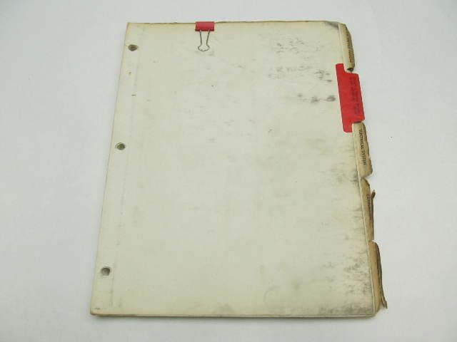 OB453 Vintage Chrysler Outboard Service Manual 80 HP 1961-64