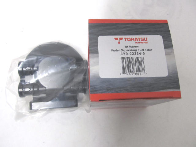TOH-WFKIT 10 Micron Water Separating Fuel Filter Kit for Nissan Tohatsu Outboards