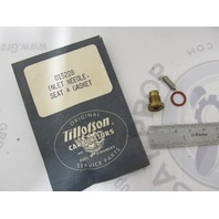 015228Tillotson Carburetor Inlet Needle Seat & Gasket