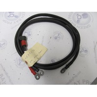 0585076 585076 584594 OMC Evinrude Johnson 8-15 HP Battery Cable 10 Gauge 100""