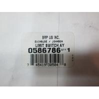 0586786 OMC Evinrude Johnson Tilt Limit Switch Assembly 586786