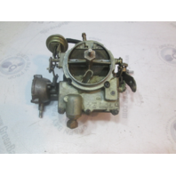 0982589 982589 OMC Stringer Chevy V8 Rochester 2 BBL Carb Carburetor