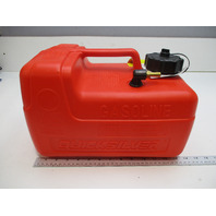 NEW Quicksilver Plastic Boat Red Gas Tank 3 Gallons