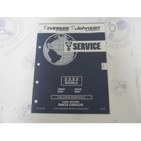 115371 1992 OMC Evinrude Johnson Outboard Parts Catalog 2.3-3.3 HP