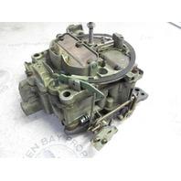 1347-7361A1 Mercruiser V8 GM 228 Stern Drive Carburetor 4 BBL