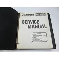 90-13645-2 1291 Mercury Mariner Outboard Service Repair Manual 70-115 HP