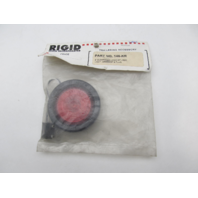 """146-KR Rigid Hitch 2"""" Round Red Trailer Clearance Light Grommet Kit"""