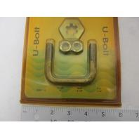 20451-10 Moeller Marine Trailer Square Bent U-Bolt 7/16 x 2 x 2-1/8