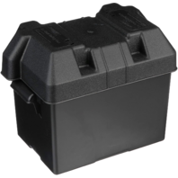 "Seachoice Marine STANDARD BATTERY BOX for 24 Series, 11-1/8"" x 7-3/4"" x 10-1/8"""