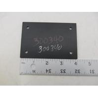 "300340 Black Plastic Wire Grommet 4"" x 2-5/8"""