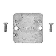 34762A1 Fits Mercury Anodic Plate Kit Fits Mercruiser Gimbal/Bell Hsg