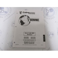 3850640 1994 OMC Cobra Stern Drive Parts Catalog 5.0 5.8 EFI