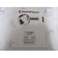 3850738 1994 OMC Cobra Stern Drive Parts Catalog 7.4 King