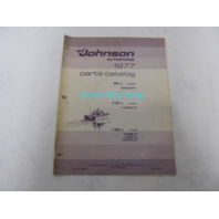 388229 1977 Johnson Outboard Parts Catalog 85 115 140 HP