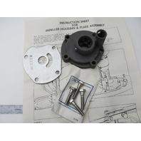 0388456 388456 Water Pump Impeller Housing Kit OMC Evinrude Johnson 25-35 HP
