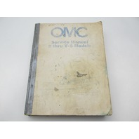 392790 OMC Johnson Evinrude Outboard Service Manual 2 thru V-6 1982