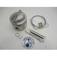 0396587 5006668 OMC  Piston & Ring Assembly Evinrude Johnson Outboard 150-185 HP