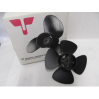 3B2B645120 4-Blade 8.7 x 7 Pitch Propeller for Tohatsu Nissan 8-9.8 HP Outboard