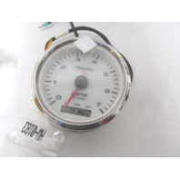 3GL726470M White TLDI Tachometer Gauge for Nissan Tohatsu Outboards
