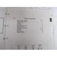 434240 1991 OMC Evinrude Johnson Outboard Parts Catalog 28 HP