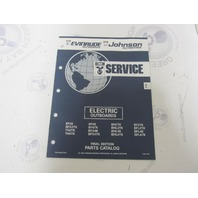 434970 1992 OMC Evinrude Johnson Electric Outboard Parts Catalog
