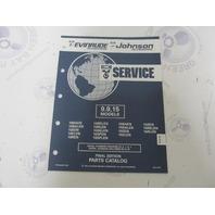 434975 1992 OMC Evinrude Johnson Outboard Parts Catalog 9.9-15 HP