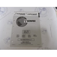 435864 1993 OMC Evinrude Johnson Outboard Parts Catalog 9.9-15 HP