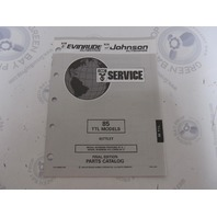 435880 1993 OMC Evinrude Johnson Outboard Parts Catalog 85 HP TTL