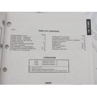 435888 1993 OMC Evinrude Johnson Outboard Parts Catalog 150 COMM