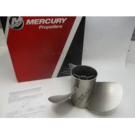 48-8M8022430 Mercury Stainless Steel Bravo Three Rear/Aft RH Prop  24 Pitch