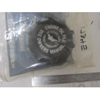 49288 17345 Mercury Mercruiser GM Old Design Oil Filler Cap NLA