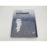 5005968 BRP Evinrude Outboard Service Manual SO E-Tec 40-60 HP 2005