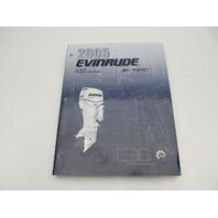 5005970 BRP Evinrude Outboard Service Manual SO E-Tec 75-90 HP 2005
