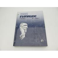 5006059 BRP Evinrude Outboard Service Manual SO E-Tec 200-250 HP 2005