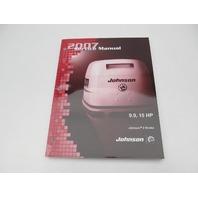 5007207 BRP Johnson Outboard Service Manual SU 9.9-15 HP 2S 2007
