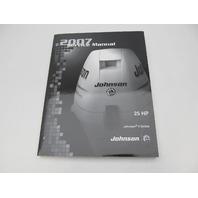 5007223 BRP Johnson Outboard Service Manual SU 25 HP 4S 2007