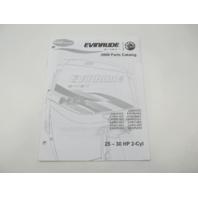 5007792 BRP Evinrude E-Tec Outboard Parts Catalog 25-30 HP 2-Cyl 2009