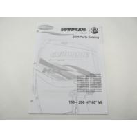 5007797 BRP Evinrude E-Tec Outboard Parts Catalog 150-200 HP V6 2009