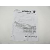 5007798 BRP Evinrude E-Tec Outboard Parts Catalog 200 225 250 300 HP V6 2009